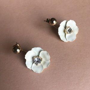 H&M Flower Earrings 🌼